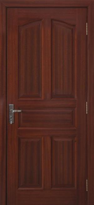 Magas minőségű fa bejárati ajtók